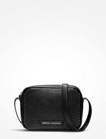 ARMANI EXCHANGE PERFORATED CROSSBODY Crossbody bag Woman f