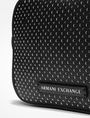 ARMANI EXCHANGE PERFORATED CROSSBODY Crossbody bag Woman a
