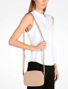 ARMANI EXCHANGE PERFORATED CROSSBODY Bag D r