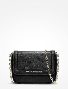 ARMANI EXCHANGE PEBBLED CROSSBODY Bag D f