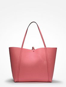 ARMANI EXCHANGE LARGE PERFORATED REVERSIBLE TOTE Bag D d