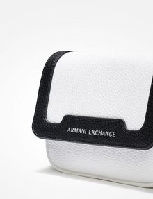 ARMANI EXCHANGE PEBBLED CROSSBODY Crossbody bag Woman a