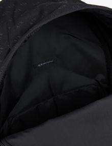 ARMANI EXCHANGE MICRO LOGO PRINT BACKPACK Backpack Man a