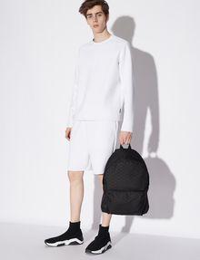 ARMANI EXCHANGE MICRO LOGO PRINT BACKPACK Backpack Man r