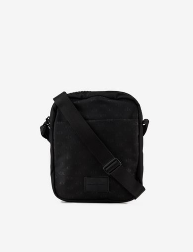 ALLOVER LOGO CROSSBODY BAG