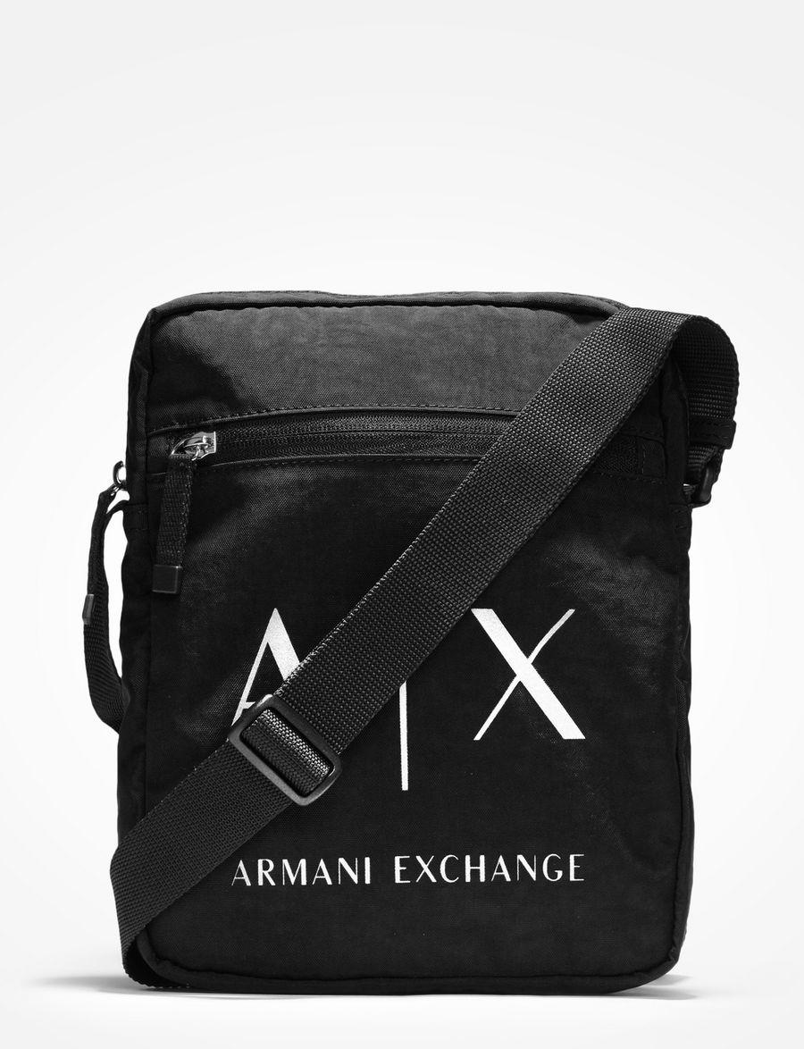 ffdbcd50ec5 Armani Exchange AX CROSSBODY SATCHEL , Crossbody Bag for Men   A X Online  Store