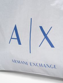 ARMANI EXCHANGE NYLON DRAWSTRING BAG Backpack Man a