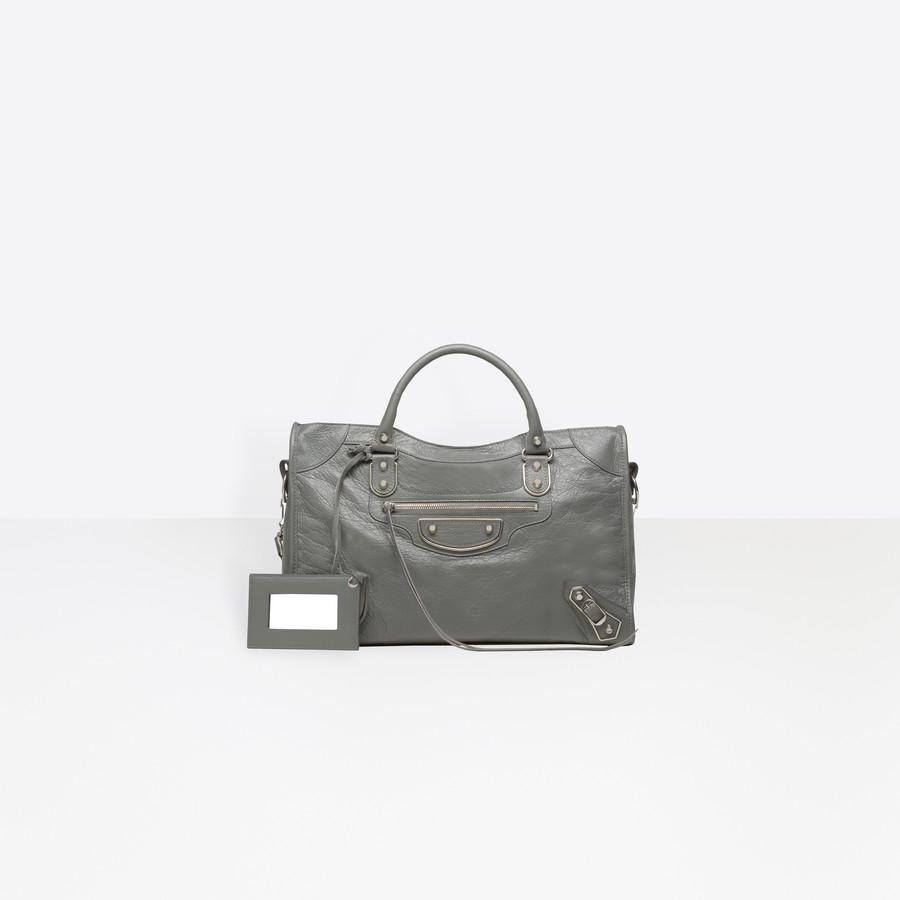 BALENCIAGA Holiday Collection Classic Metallic Edge City Metallic Edge Handbag D f