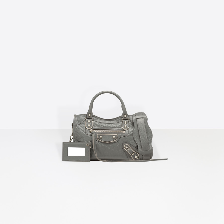 BALENCIAGA Holiday Collection Classic Metallic Edge Mini City Metallic Edge Handbag D f