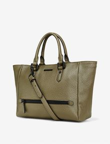 ARMANI EXCHANGE PEBBLED ZIP TOTE Bag D d
