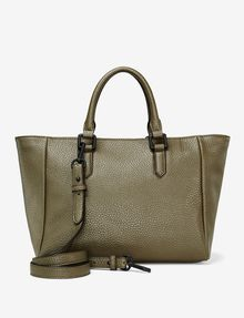 ARMANI EXCHANGE PEBBLED ZIP TOTE Bag D r