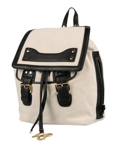 LA CARRIE BAG レディース バックパック&ヒップバッグ アイボリー 紡績繊維