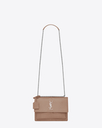 SAINT LAURENT Sunset D medium sunset monogram saint laurent bag rosa antico in coccodrillo stampato lucido f