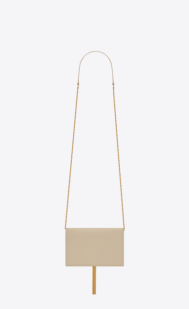 SAINT LAURENT Mini bags Kate Woman kate chain wallet with tassel in smooth leather b_V4
