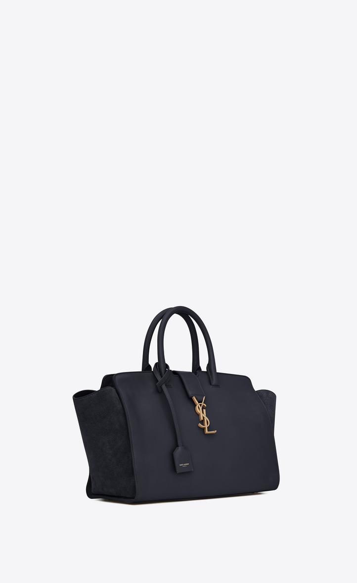 Saint Laurent Downtown Small Cabas In Leather And Suede  9b132e53b0a89