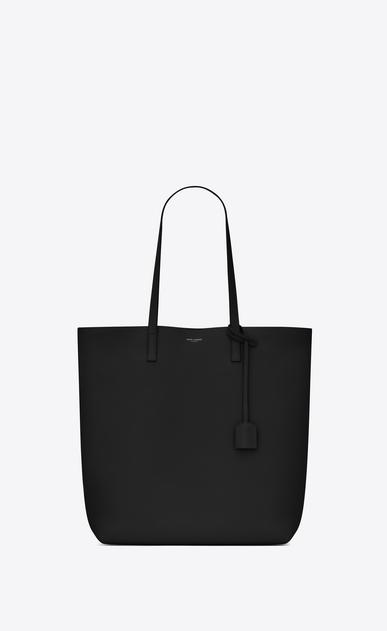 SAINT LAURENT Shopping Saint Laurent E/W D shopping saint laurent tote bag in black leather v4