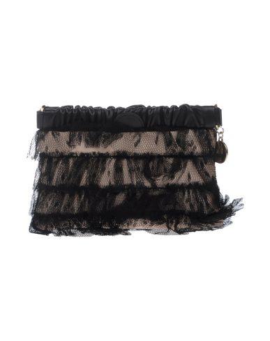 RED(V) レディース ハンドバッグ ブラック 紡績繊維