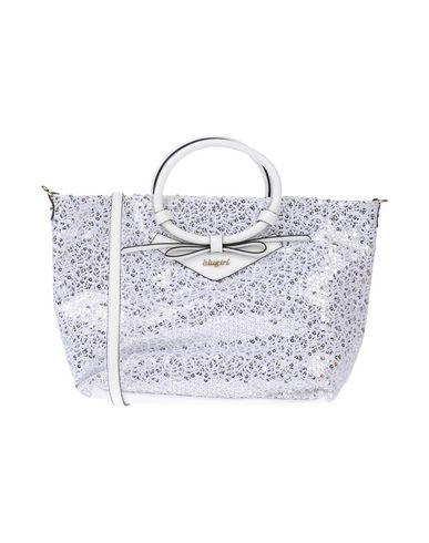 BLUGIRL BLUMARINE レディース ハンドバッグ ホワイト 紡績繊維