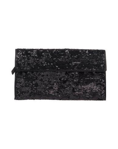MAISON MARGIELA レディース ハンドバッグ ブラック ポリエステル 36% / ポリエチレン 36% / コットン 28% / 羊類革