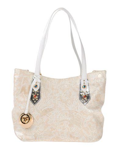 PIERO GUIDI レディース ハンドバッグ サンド 紡績繊維