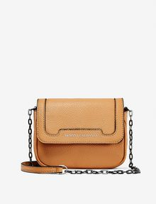 ARMANI EXCHANGE MINI PEBBLE CROSSBODY Bag Woman f