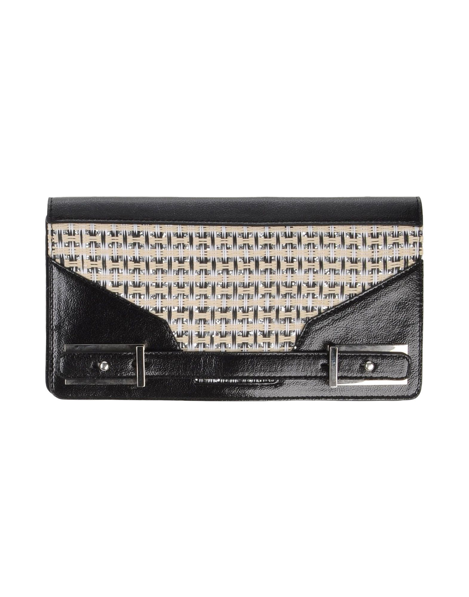 《送料無料》PINKO BAG レディース ハンドバッグ ブラック ポリウレタン 100% / 不織布
