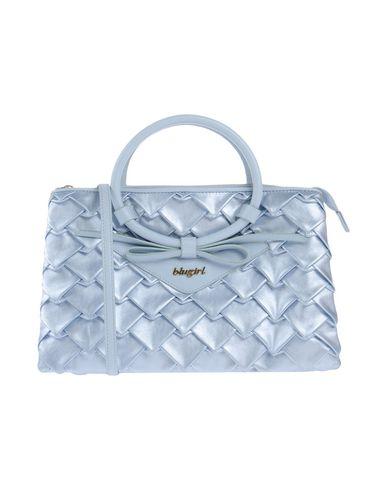 BLUGIRL BLUMARINE レディース ハンドバッグ スカイブルー 紡績繊維