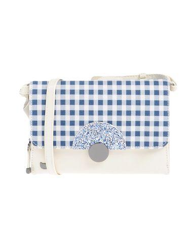 LOLLIPOPS レディース ハンドバッグ ダークブルー 紡績繊維 / 革
