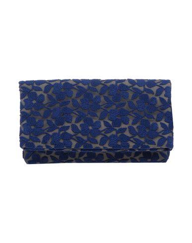 ANTONELLA GALASSO レディース ハンドバッグ ダークブルー 紡績繊維
