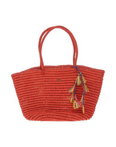 NALI レディース ハンドバッグ 赤茶色 指定外繊維(紙) 100%