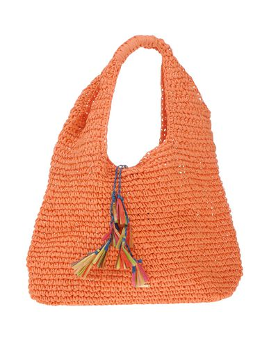 NALI レディース ハンドバッグ あんず色 指定外繊維(紙) 100%