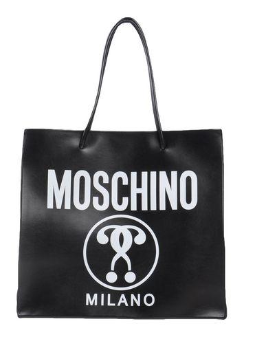 MOSCHINO レディース ハンドバッグ ブラック 革