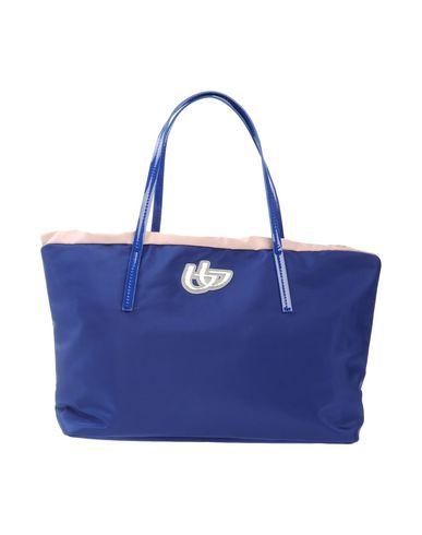 BYBLOS レディース ハンドバッグ ブルー 紡績繊維