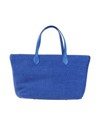 LABORATORIO TOSCANO FIRENZE レディース ハンドバッグ ブルー 紡績繊維 / 革