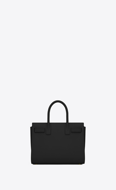 SAINT LAURENT Baby Sac de Jour Woman baby sac de jour bag in black leather b_V4