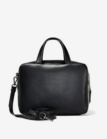 ARMANI EXCHANGE COLORBLOCK ACCENT SATCHEL Bag Woman r