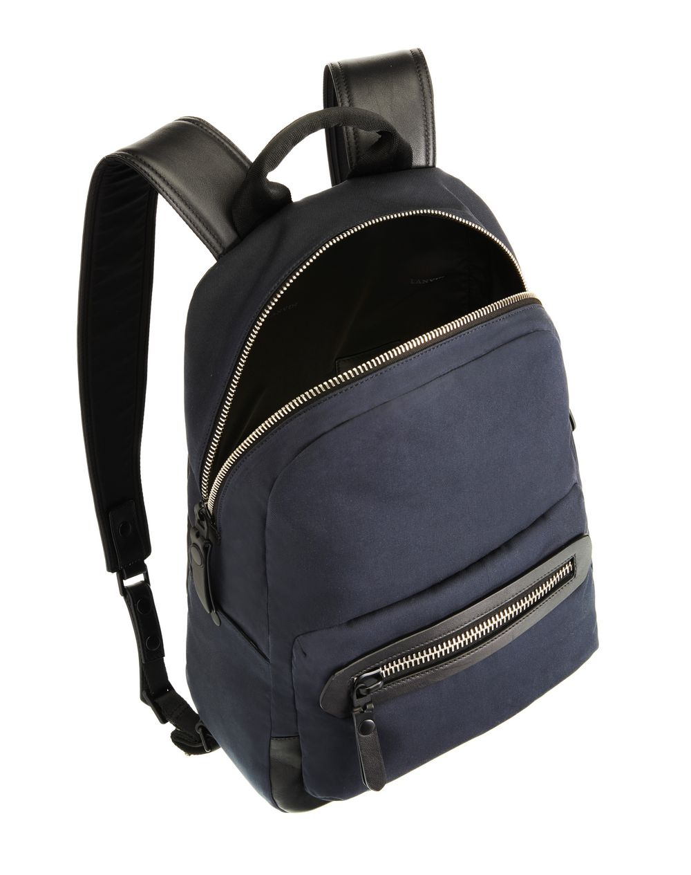 COTTON ZIPPED BACKPACK  - Lanvin