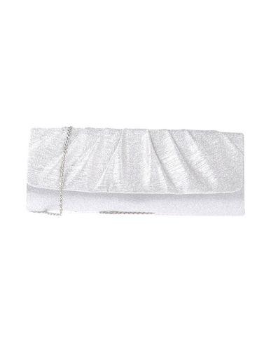 NINA レディース ハンドバッグ シルバー 紡績繊維