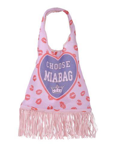 MIA BAG レディース ハンドバッグ ピンク ポリエステル 100% / ポリウレタン / ナイロン