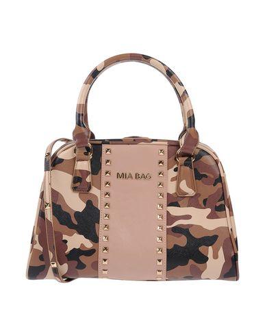 MIA BAG レディース ハンドバッグ ブラウン 紡績繊維