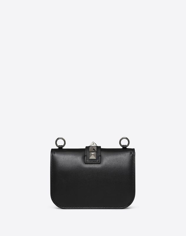 Small Noir Lock Shoulder Bag