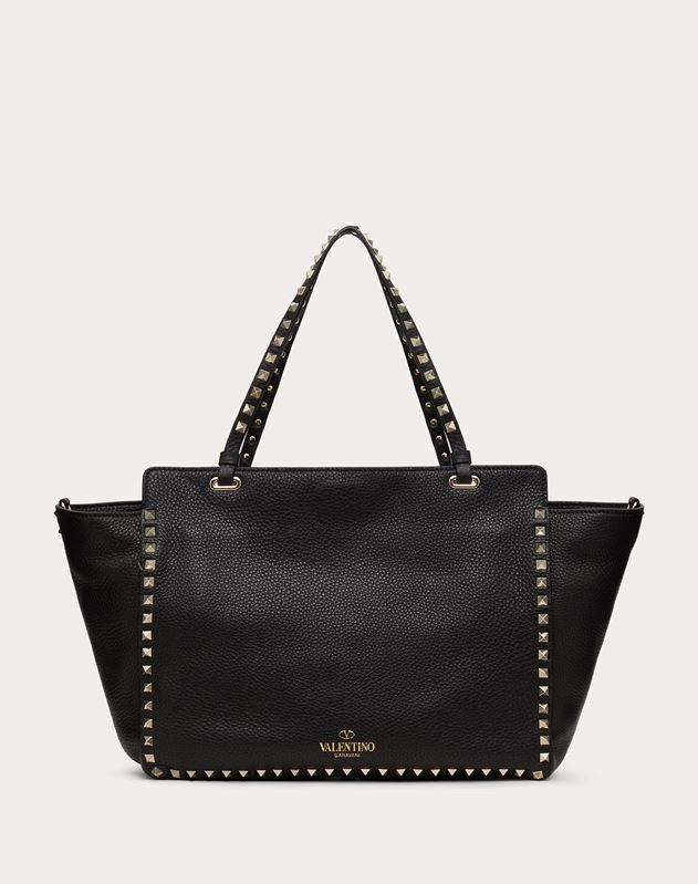 eb25513dd4 Rockstud medium tote for Woman | Valentino Online Boutique