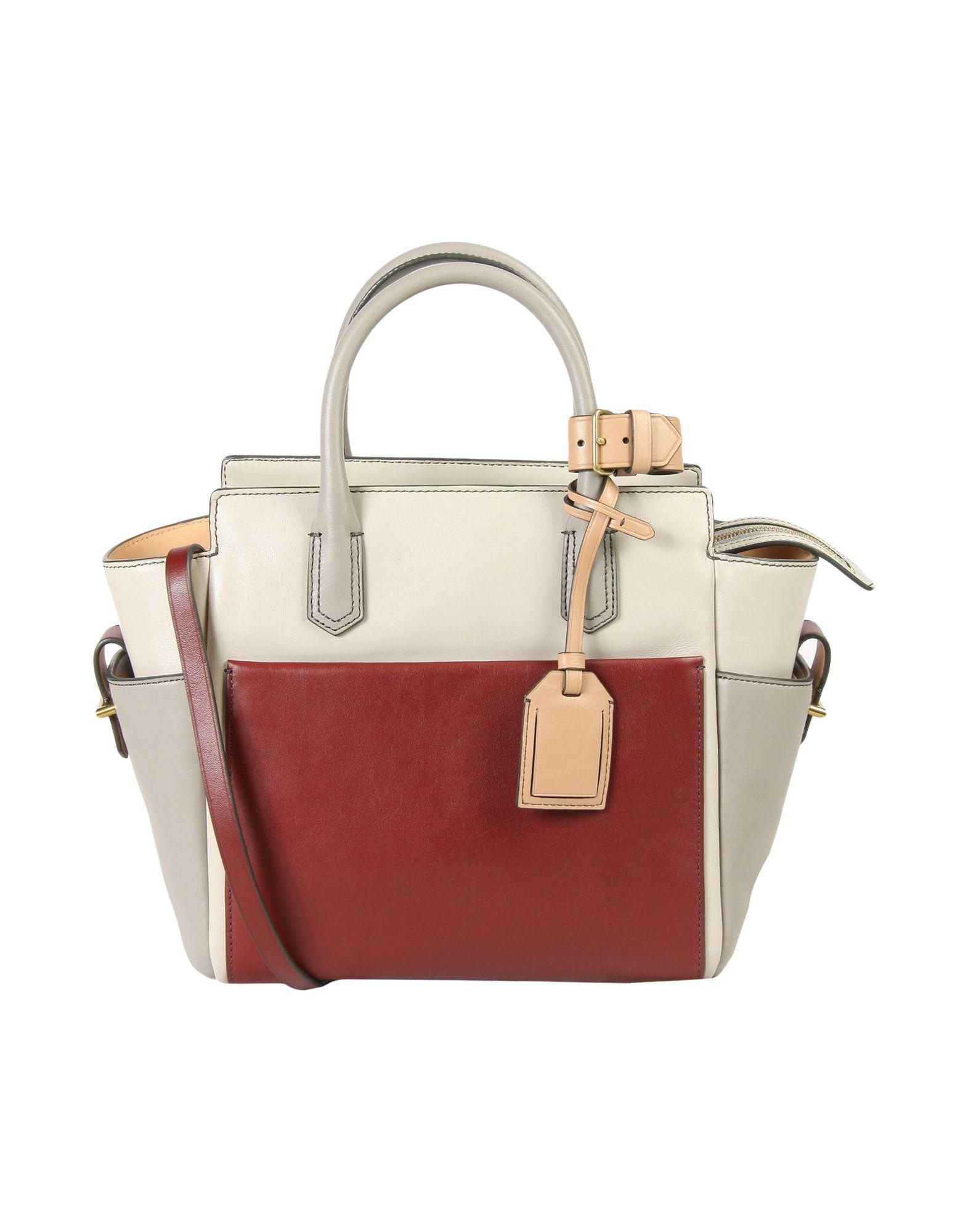 REED KRAKOFF Handbag in Light Grey