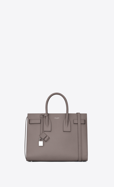 SAINT LAURENT Sac De Jour Small Woman small sac de jour bag in fog grained leather a_V4