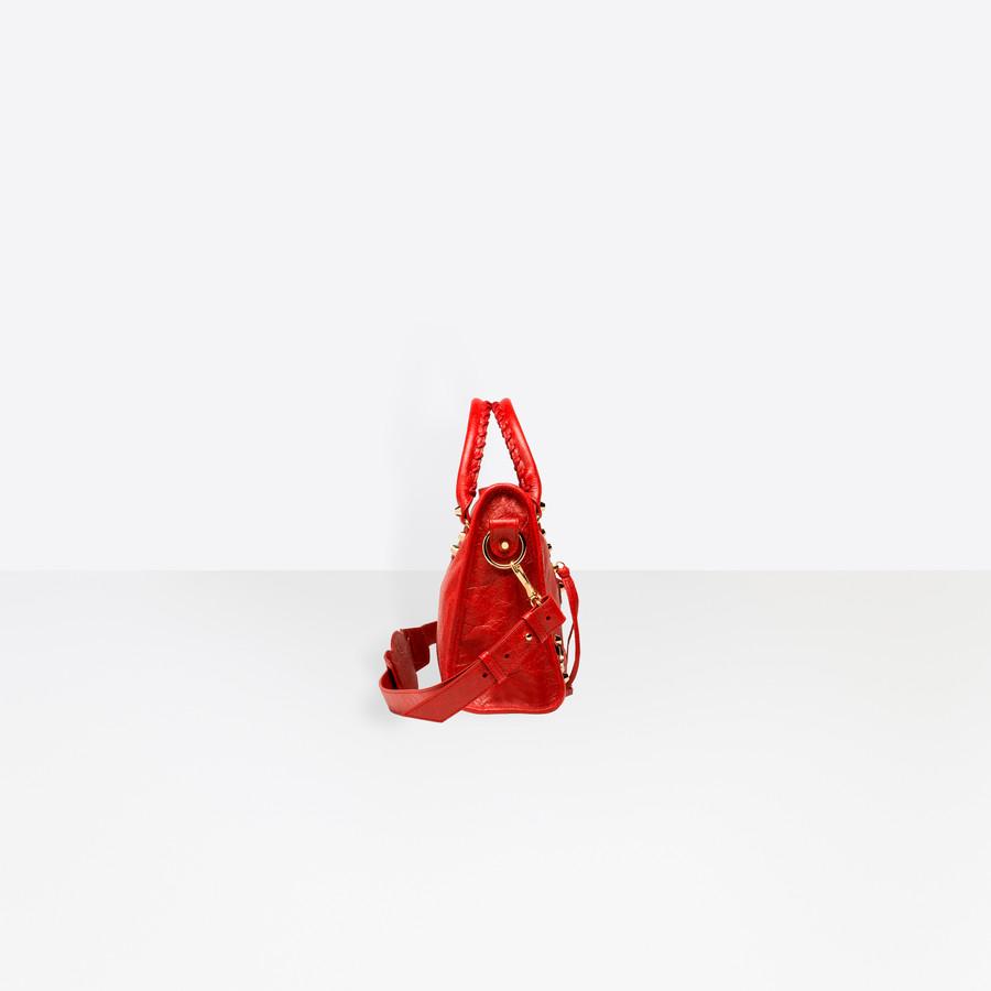 BALENCIAGA Classic Gold City S Classic New City Handbags D i