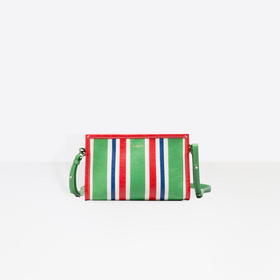 BALENCIAGA Bazar Strap Clutch Bazar handbags D d