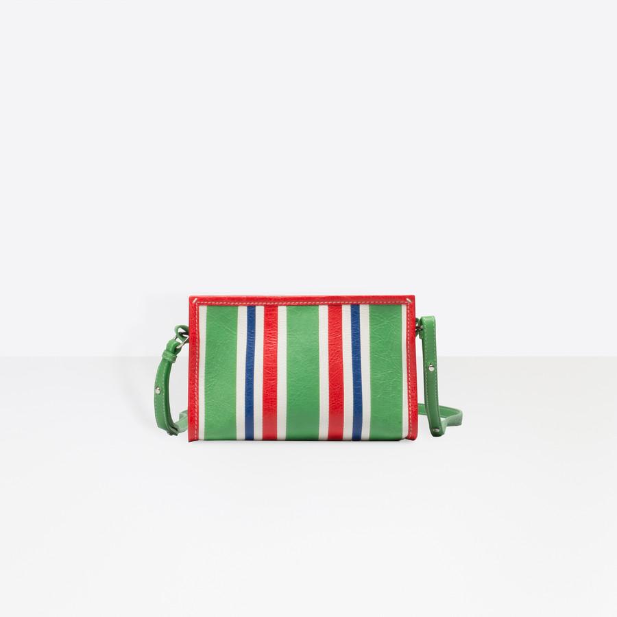 BALENCIAGA Bazar Strap Clutch Bazar handbags D f