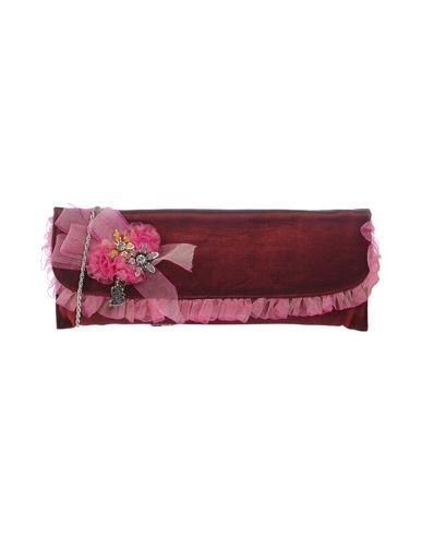BELEN DONATE レディース ハンドバッグ ボルドー 紡績繊維
