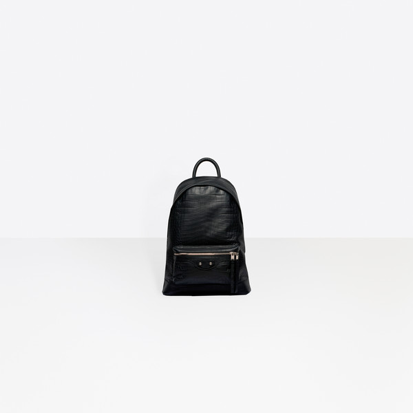 Croc-effect Backpack