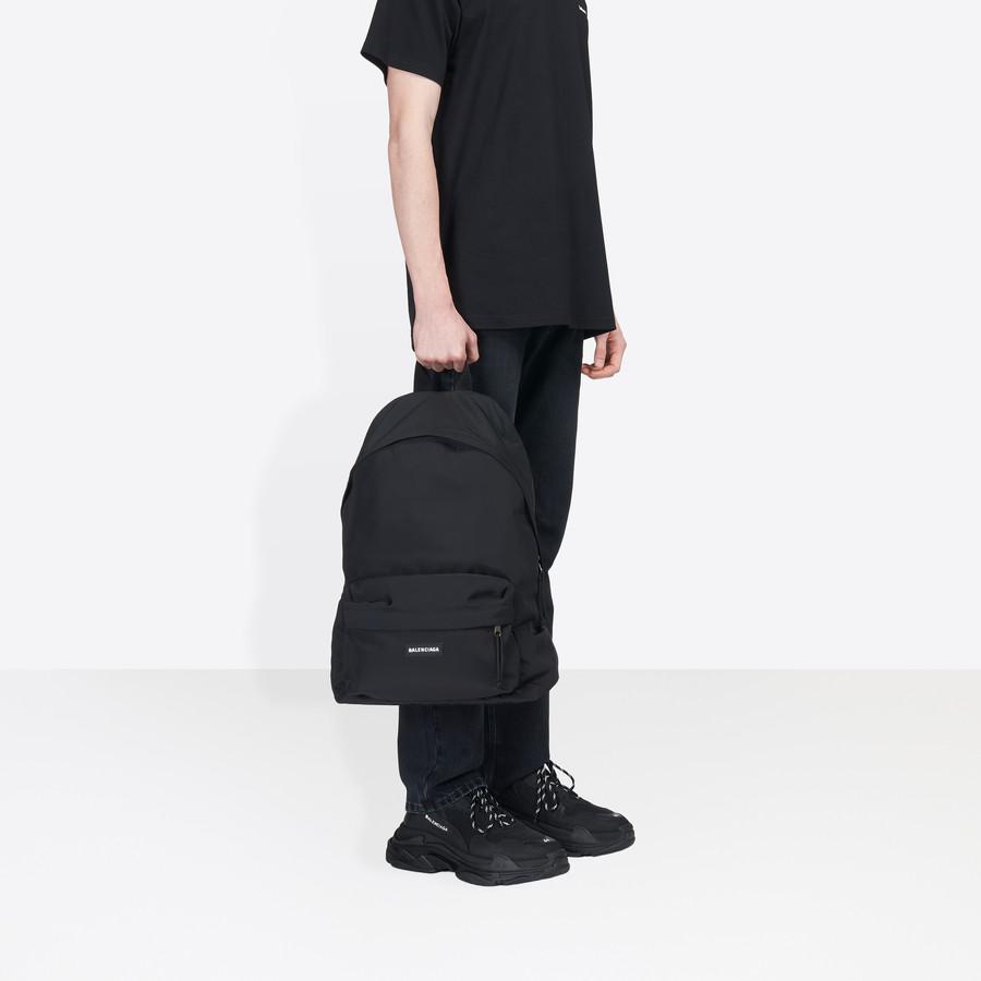 BALENCIAGA Explorer Backpack Cotton Explorer Bags Man b